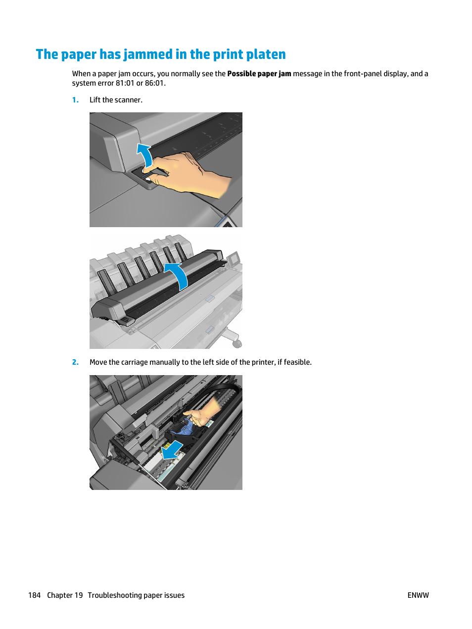 Paper suitability options, paper mismatch action | hp designjet.