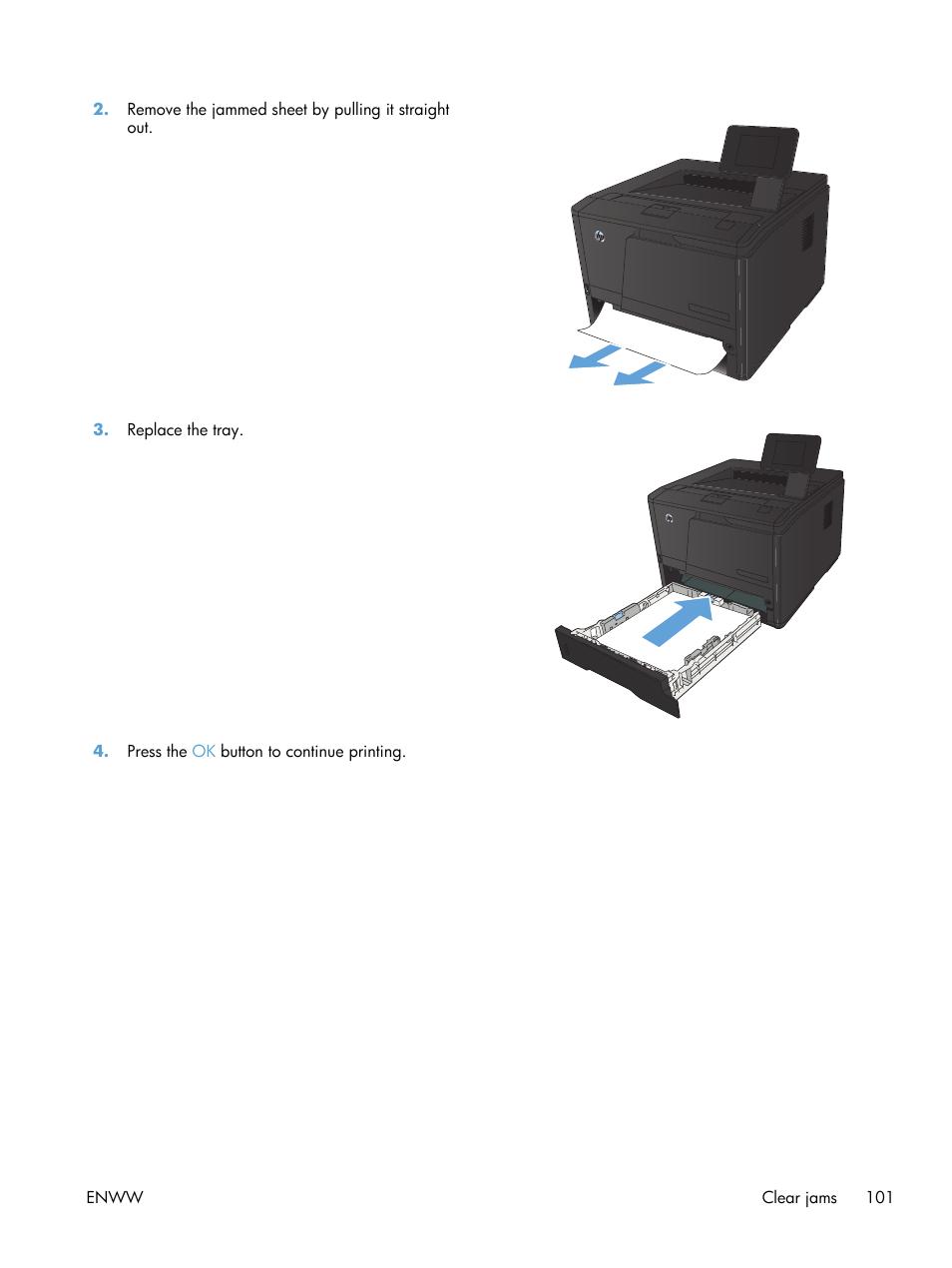 HP LaserJet Pro 400 Printer M401 series User Manual   Page 113 / 148
