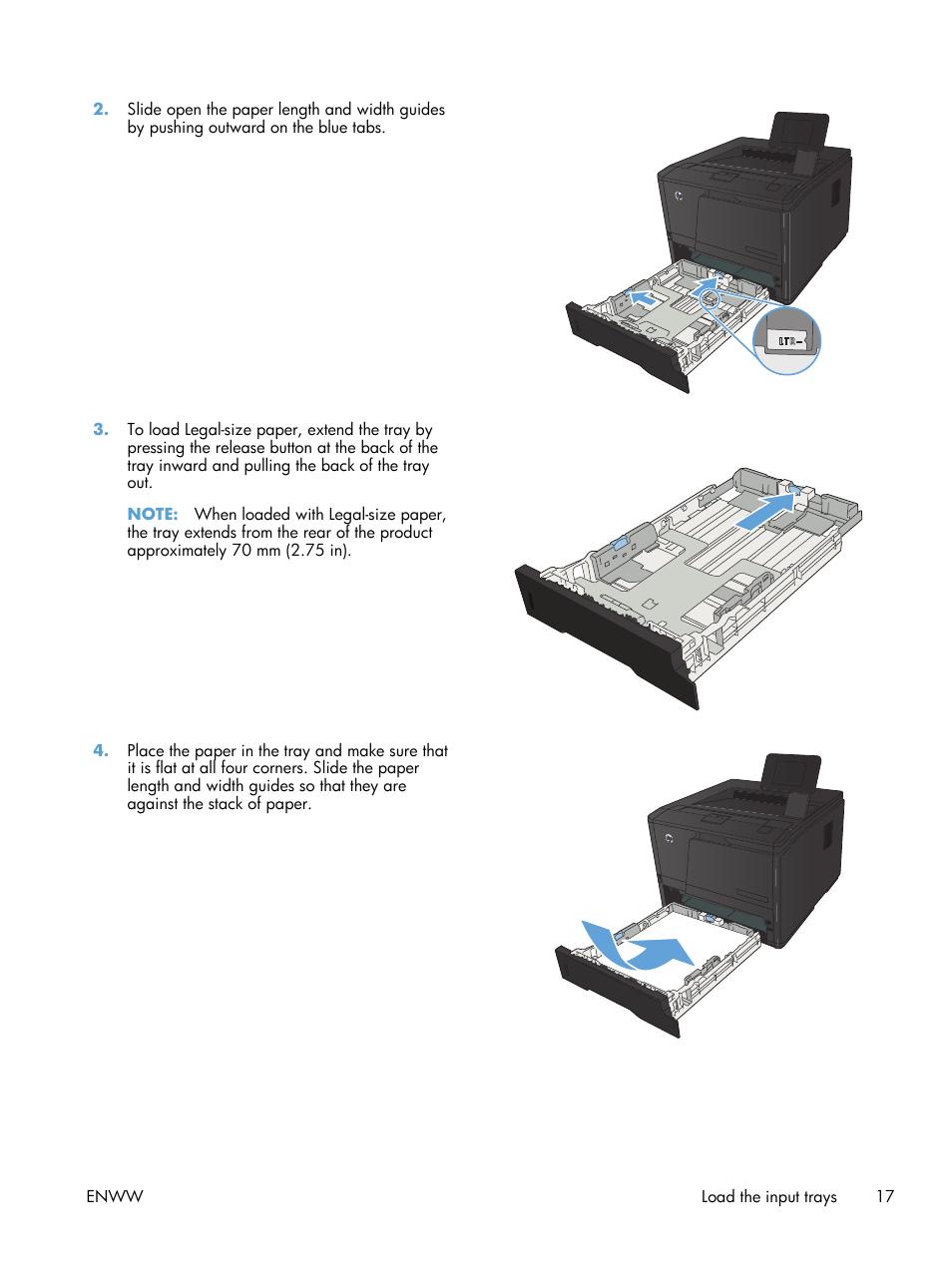 HP LaserJet Pro 400 Printer M401 series User Manual   Page 29 / 148