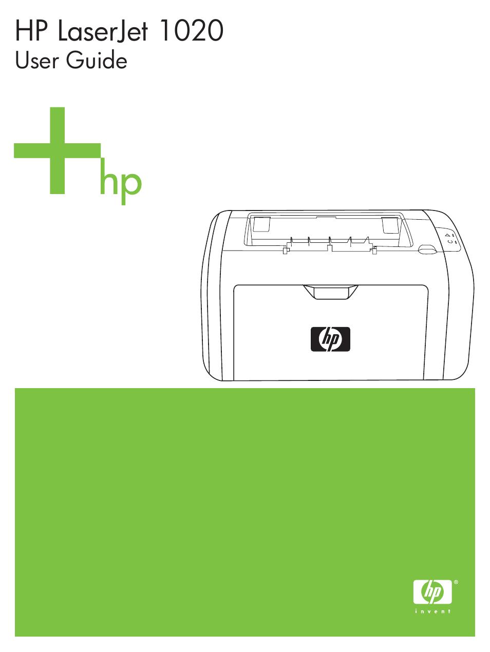 hp laserjet 1020 plus printer user manual 114 pages rh manualsdir com 1020 HP Laptop HP 1022