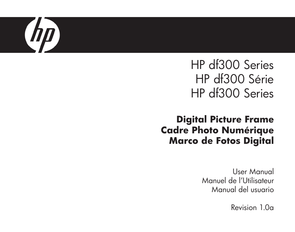 HP df300 Digital Picture Frame User Manual | 62 pages