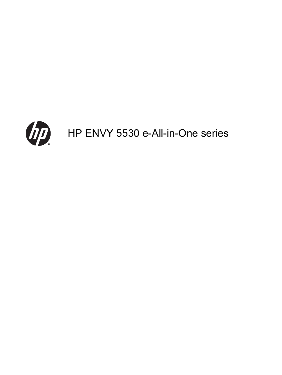 Hp Envy 5530 E All In One Printer User Manual 108 Pages