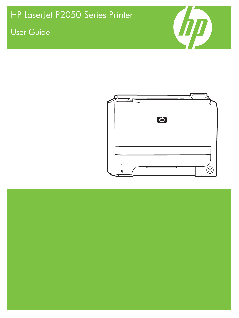 HP LaserJet P2055dn User Manual | 176 pages | Also for: LaserJet P2055  series, LaserJet P2050