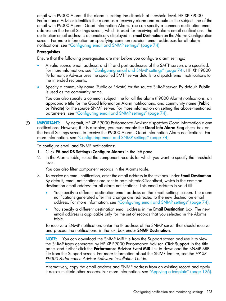 HP XP P9000 Performance Advisor Software User Manual | Page 123 ...