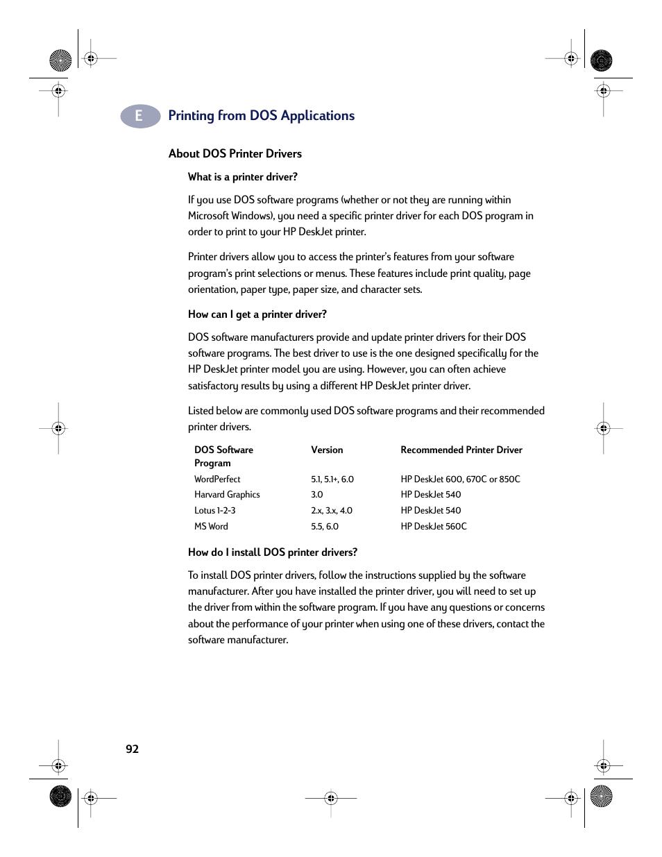 Printer manual for hp | ebay.