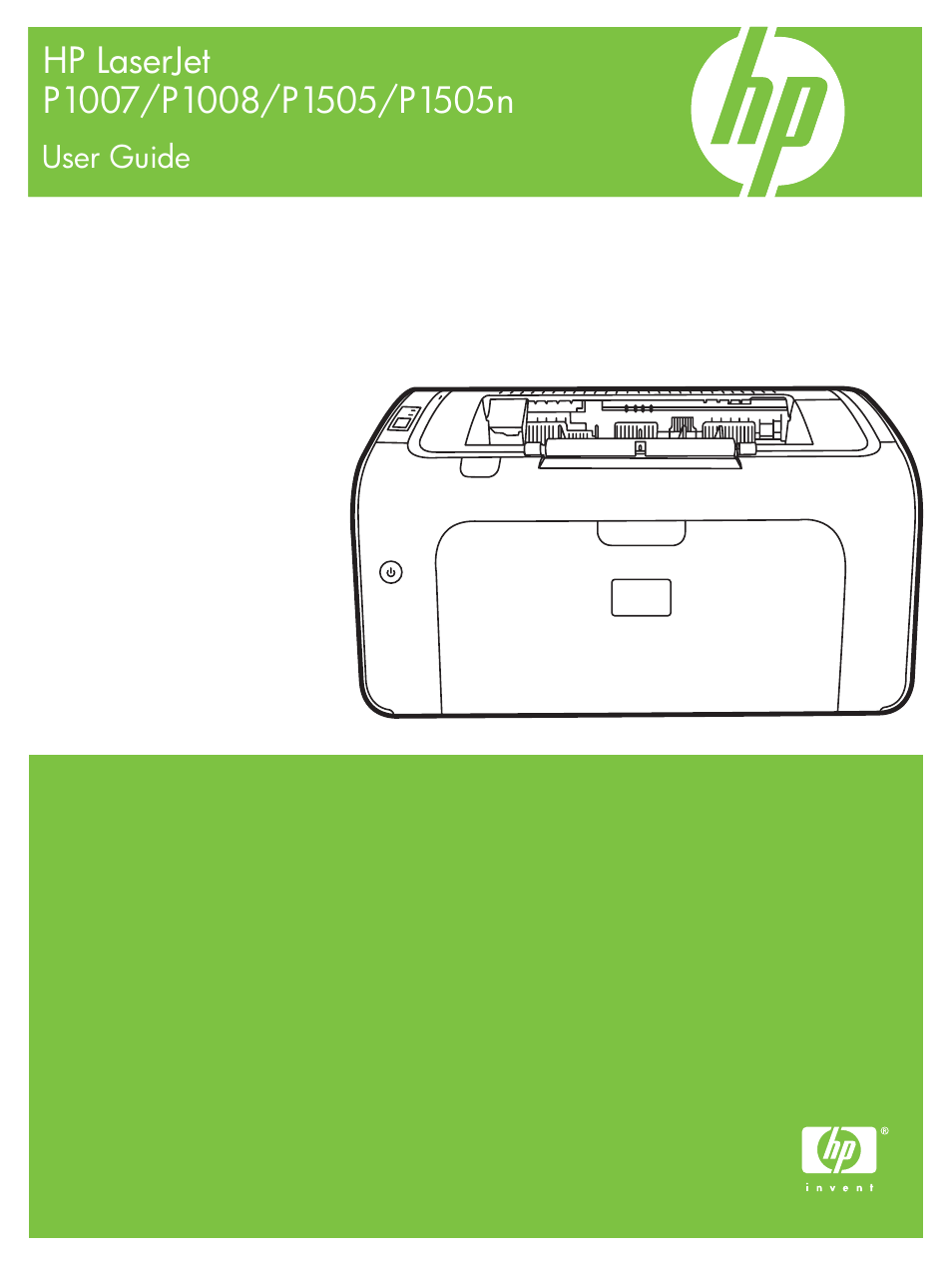hp laserjet p1007 printer user manual 120 pages rh manualsdir com hp laserjet p1007 printer repair manual HP LaserJet P1007 Driver