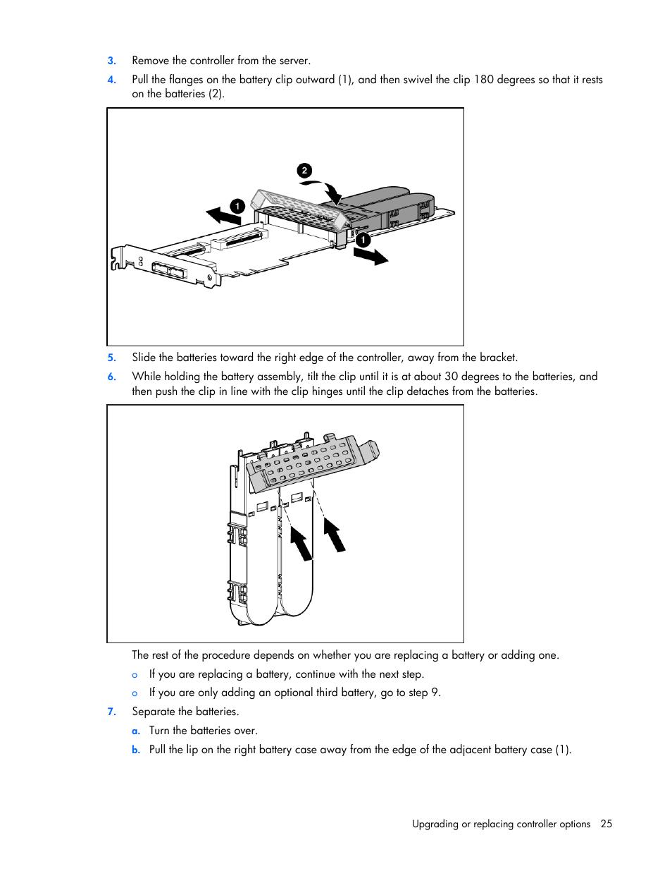 Hp smart array p400 manuals.