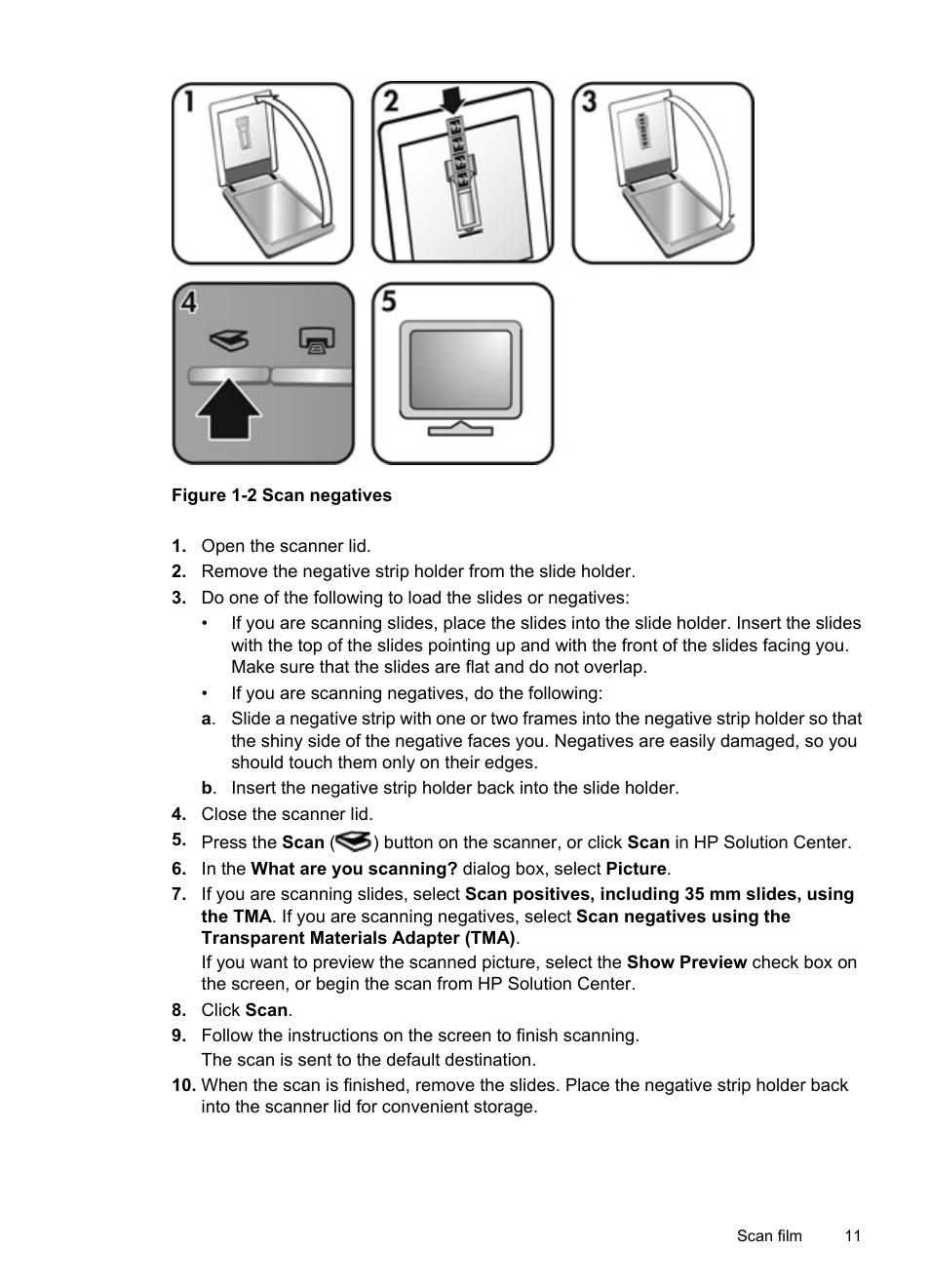 hp scanjet g2410 flatbed scanner user manual page 13 30 also rh manualsdir com  hp scanjet g2410 user manual pdf