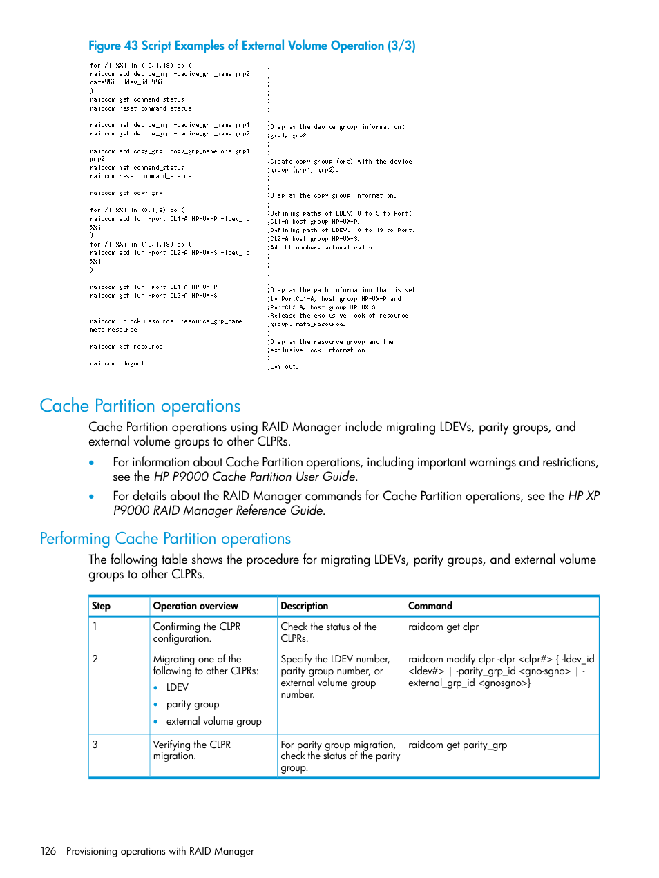 cache partition operations performing cache partition operations rh manualsdir com hp operations manager user guide hp operations manager guide