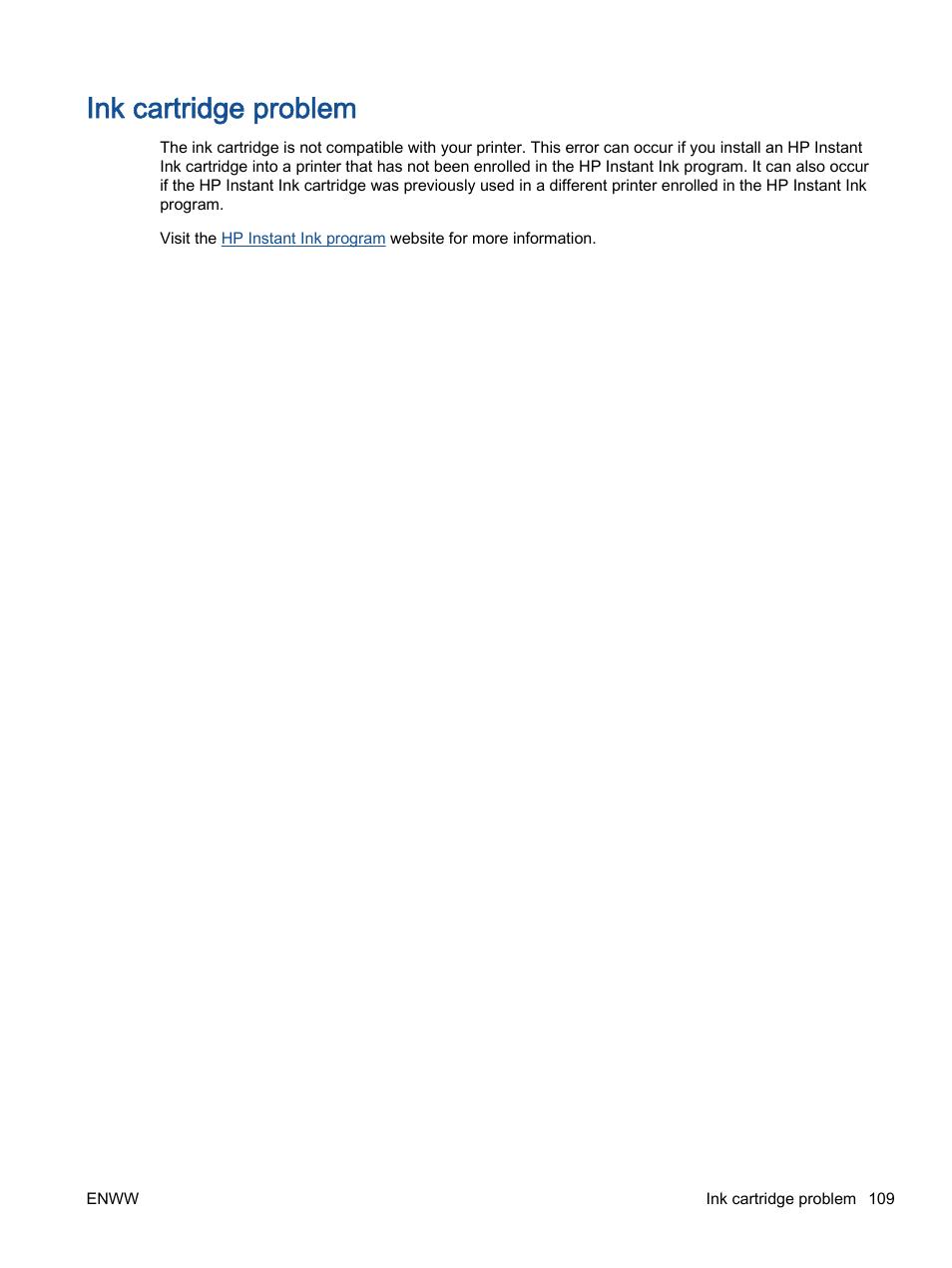 Ink cartridge problem | HP Officejet 4630 e-All-in-One