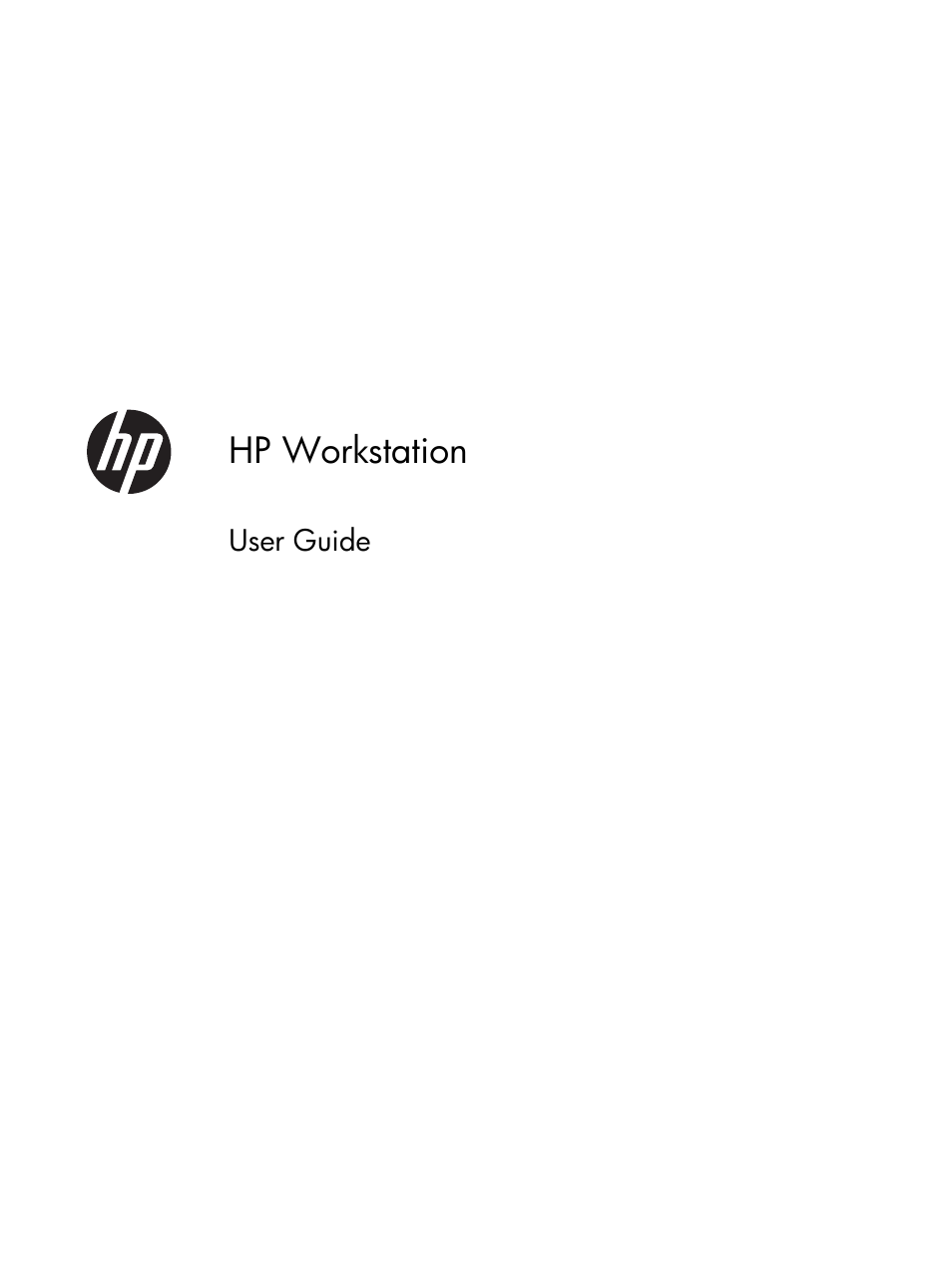 HP Z230 Tower-Workstation User Manual | 59 pages | Also for
