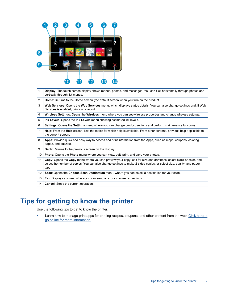 tips for getting to know the printer hp photosmart 7520 e all in rh manualsdir com hp 7520 printer manual pdf hp 7520 printer instruction manual