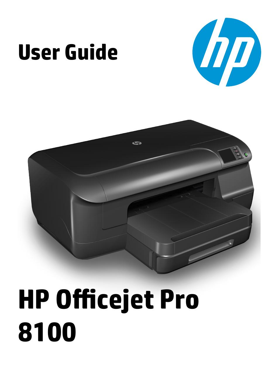 hp officejet pro 8100 eprinter n811a n811d user manual 152 pages rh manualsdir com hp officejet pro 8100 manual pdf hp officejet pro 8100 service manual