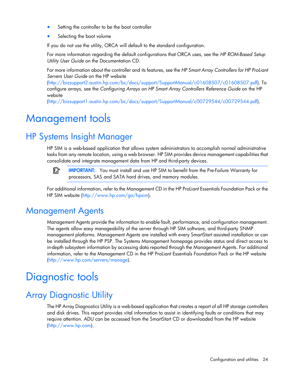 Hp Storage Management Utility