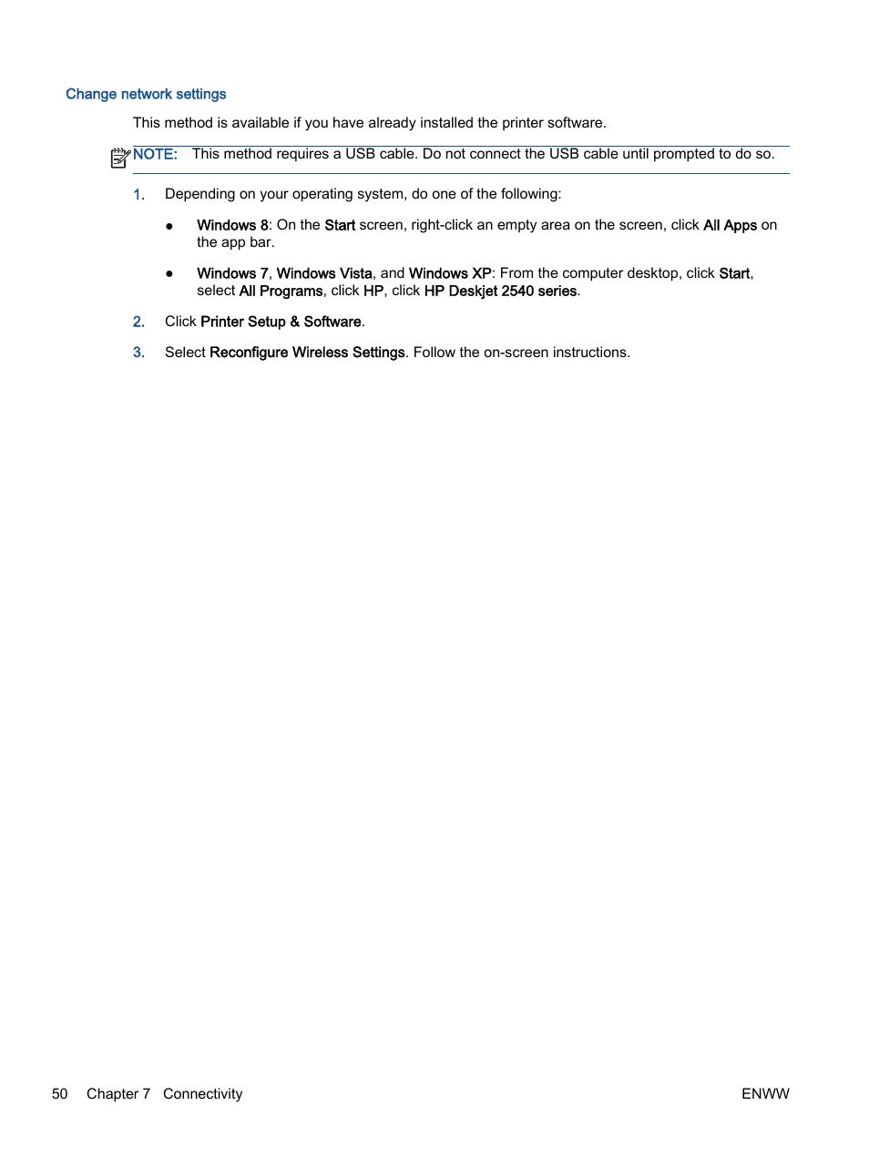 HP Deskjet 2540 All-in-One Printer User Manual | Page 54 / 102
