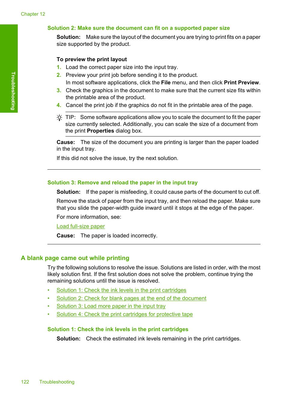 HP Deskjet F2235 All-in-One Printer User Manual | Page 125 / 225