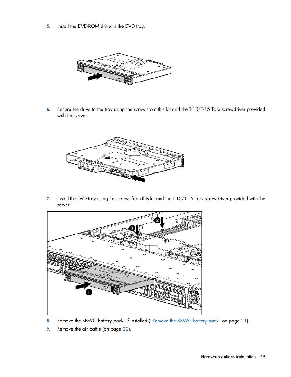 hp proliant dl360 g6 server user manual page 49 127 original mode rh manualsdir com hp 49g manual hp 49g manual pdf