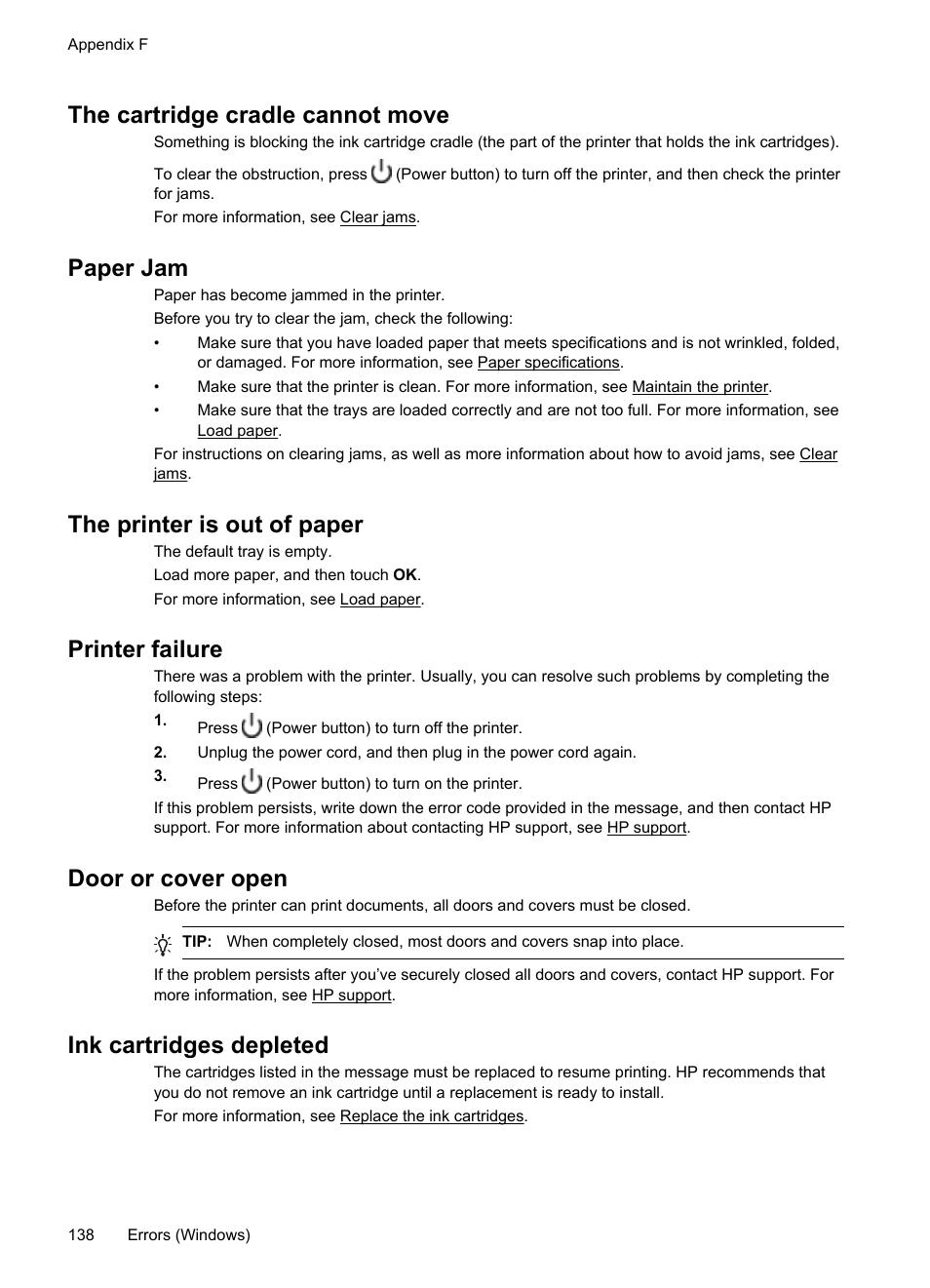 Hp Printer Error Depleted Cartridge