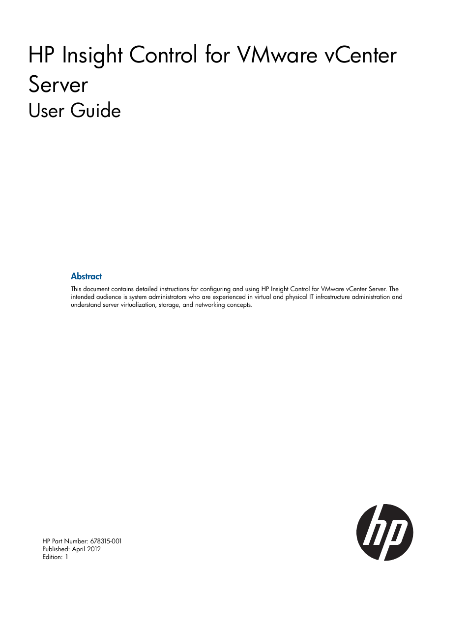 hp oneview for vmware vcenter user manual 99 pages rh manualsdir com vmware boxer user guide vmware utilities user guide