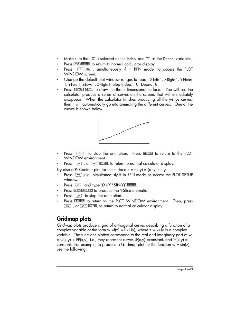 gridmap plots gridmap plots 12 40 hp 50g graphing calculator rh manualsdir com