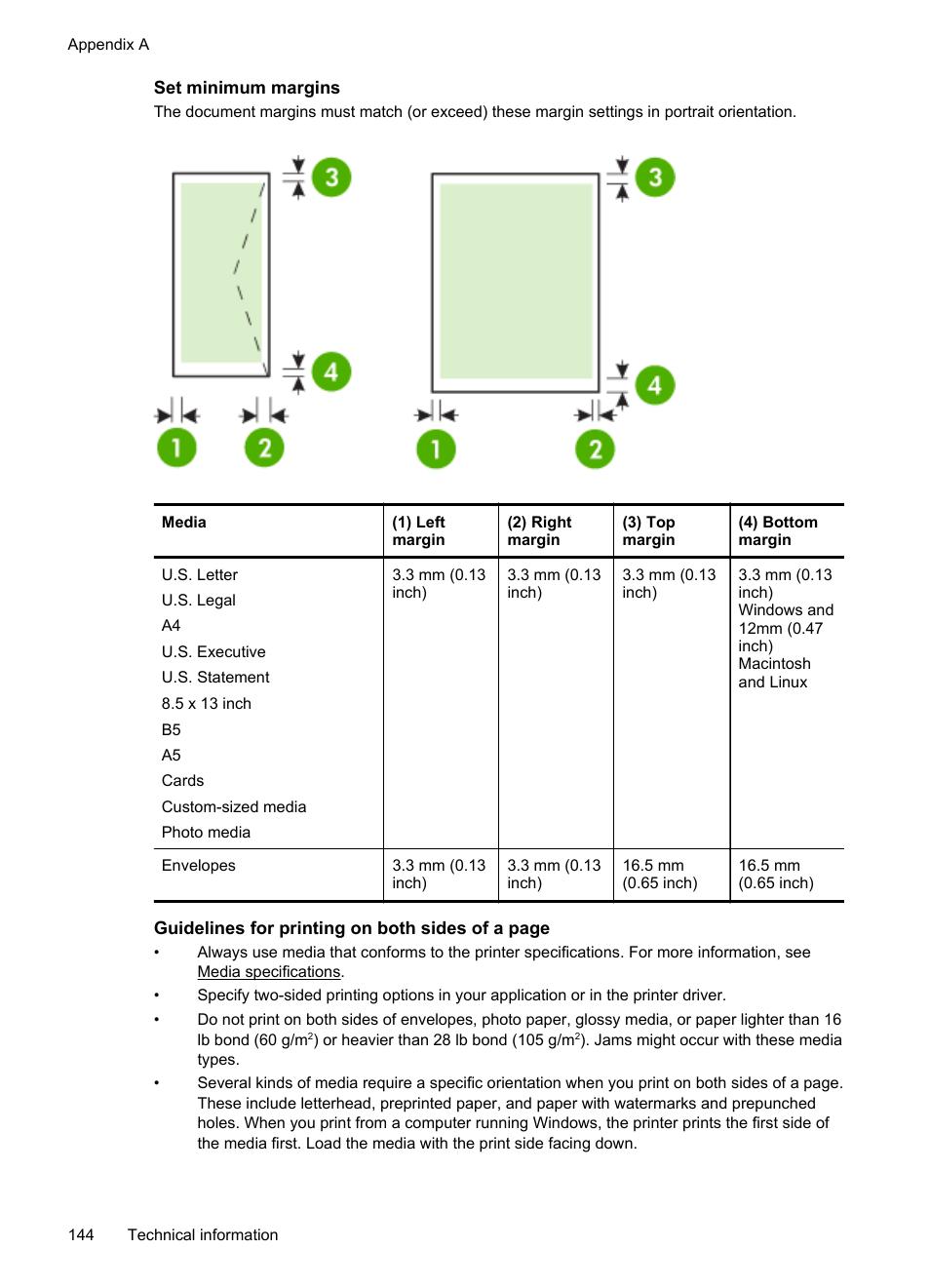 Set minimum margins | HP Officejet 6700 Premium e-All-in-One Printer