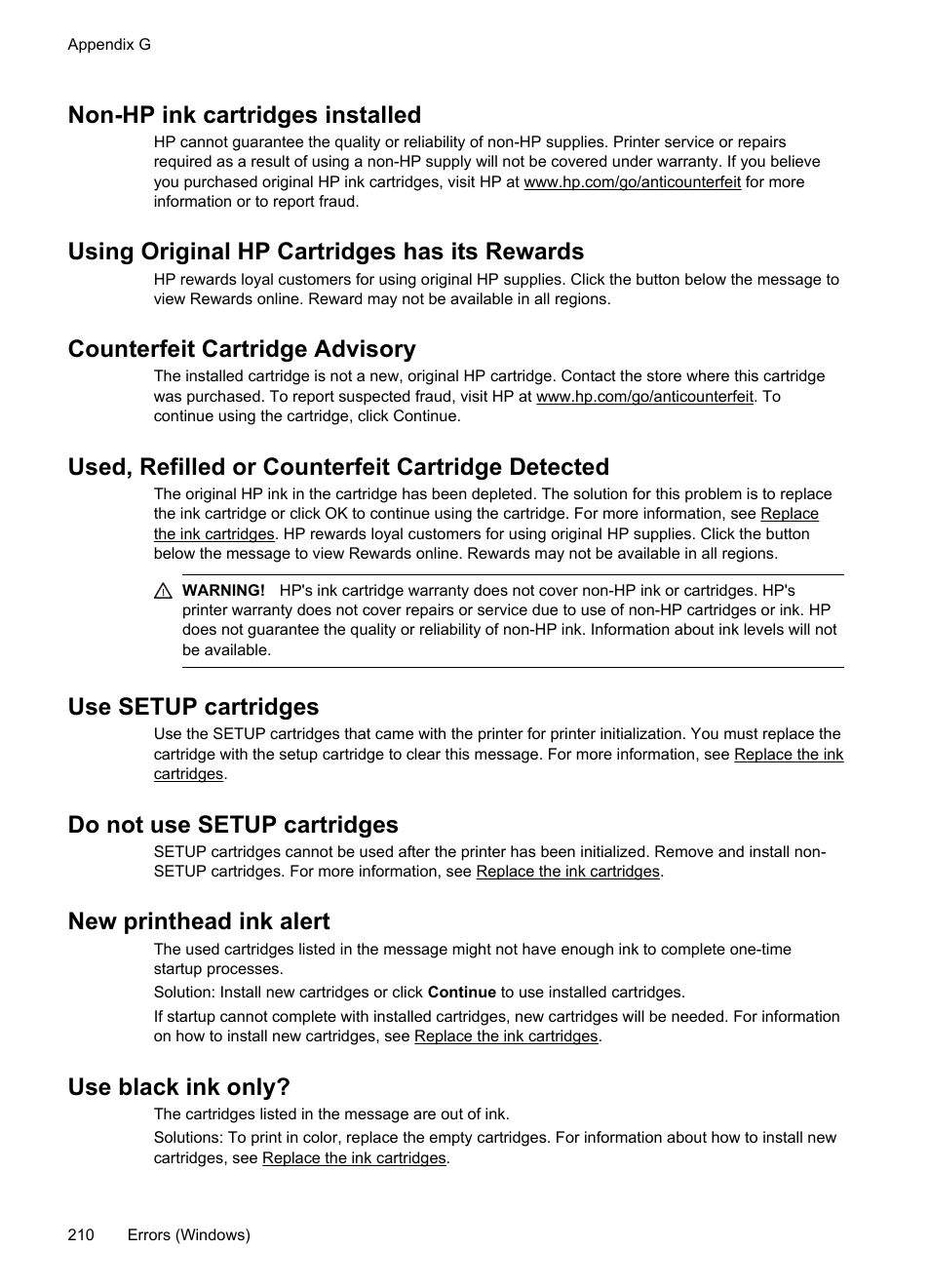 Non Hp Ink Cartridges Installed Using Original Has Its Rewards Counterfeit Cartridge Advisory