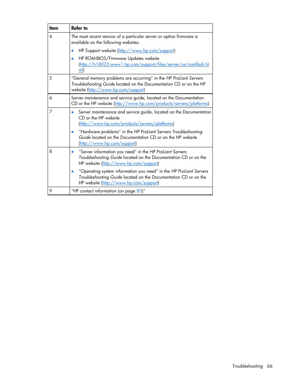 hp proliant ml310 g5 server user manual page 66 99 rh manualsdir com Pool Maintenance Guide Scion Maintenance Guides