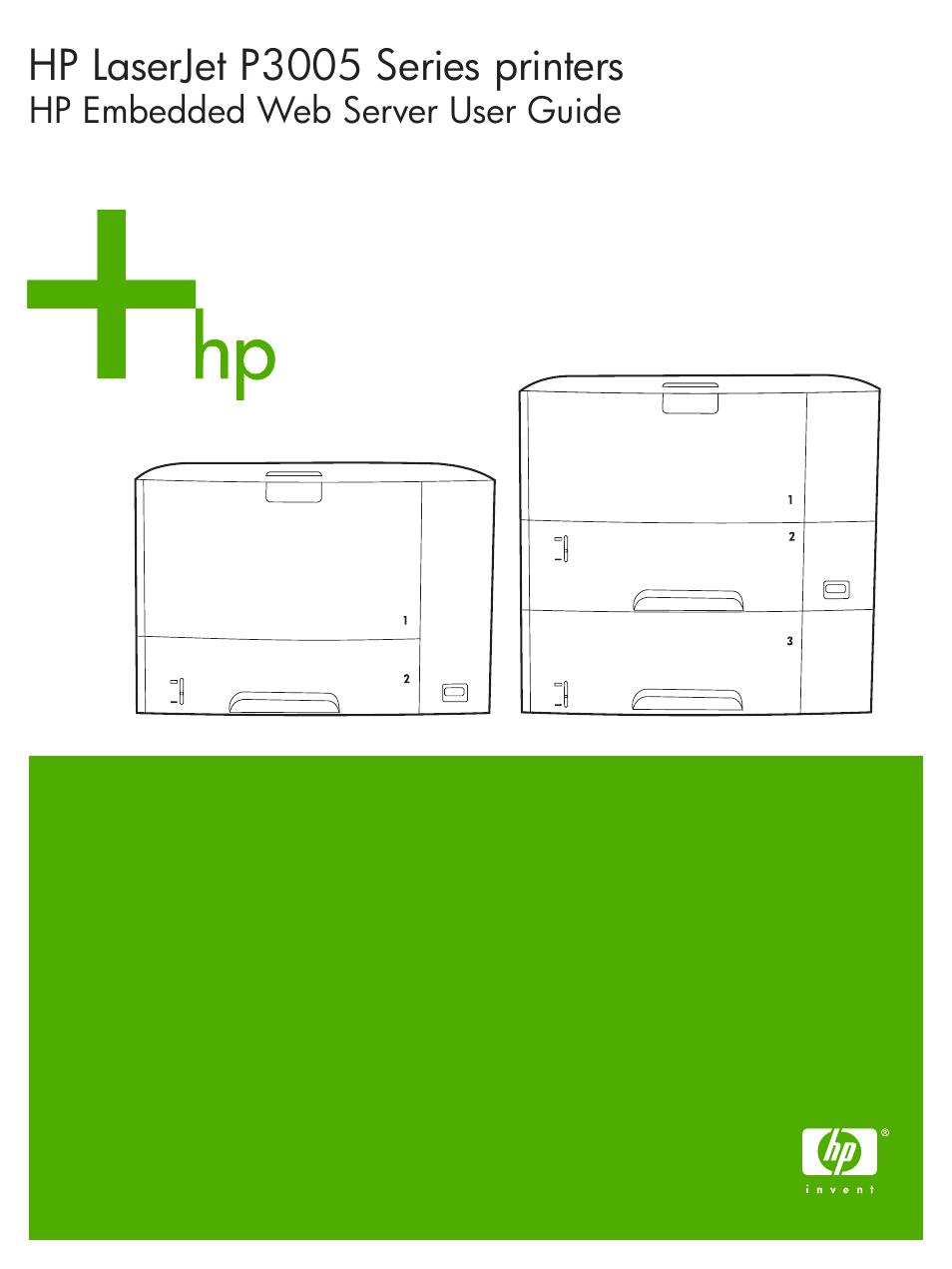 hp laserjet p3005 printer series user manual 58 pages rh manualsdir com HP LaserJet 4350 Driver HP LaserJet P3005 Printer
