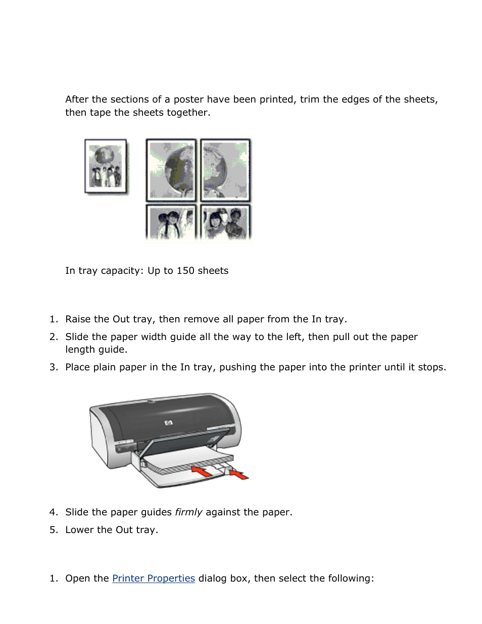 к hp 5150 принтеру инструкция