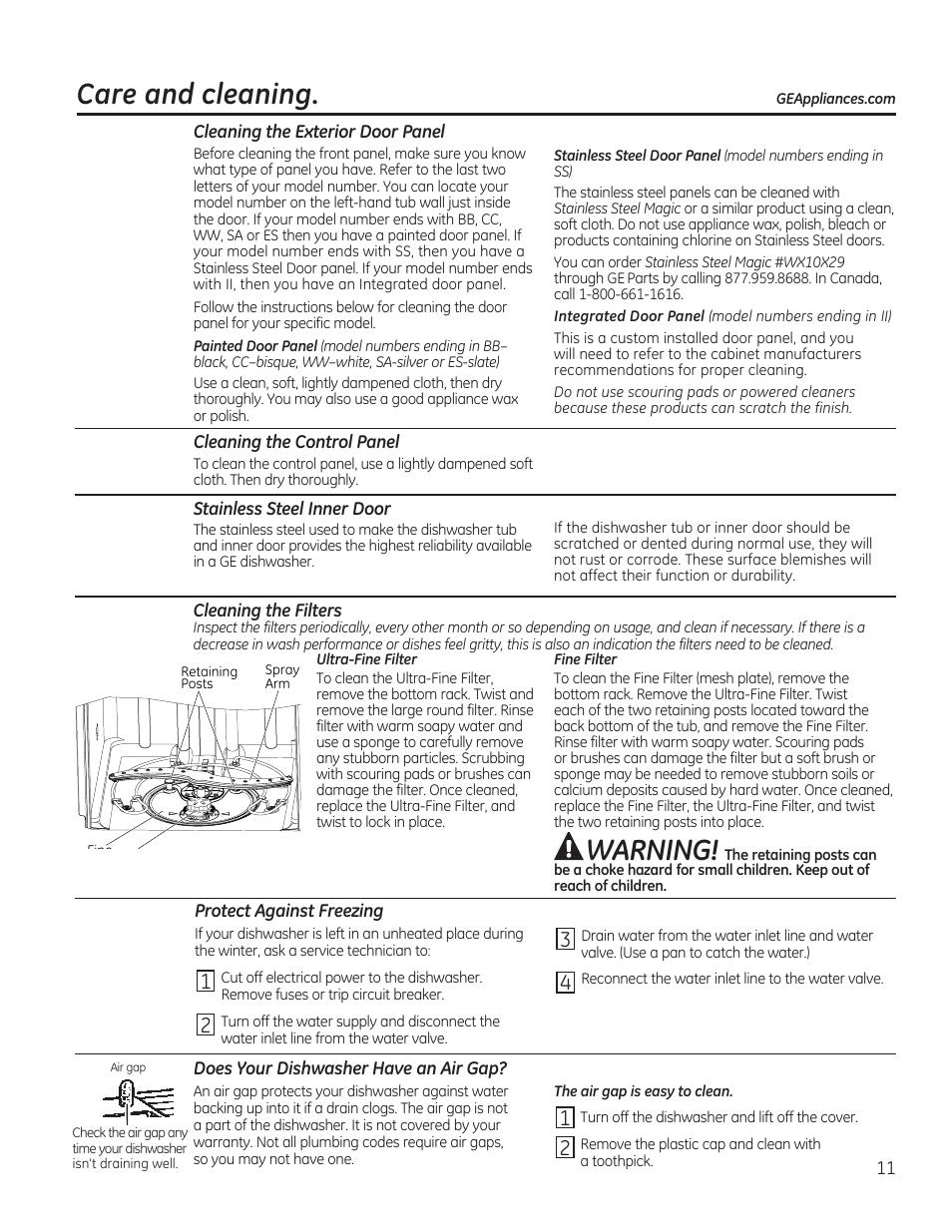 ge air cleaner user manual user guide manual that easy to read u2022 rh 6geek co Owners Manual GE Appliances GE Appliance Manual