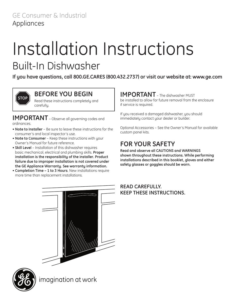 ge dishwasher installation guide best setting instruction guide