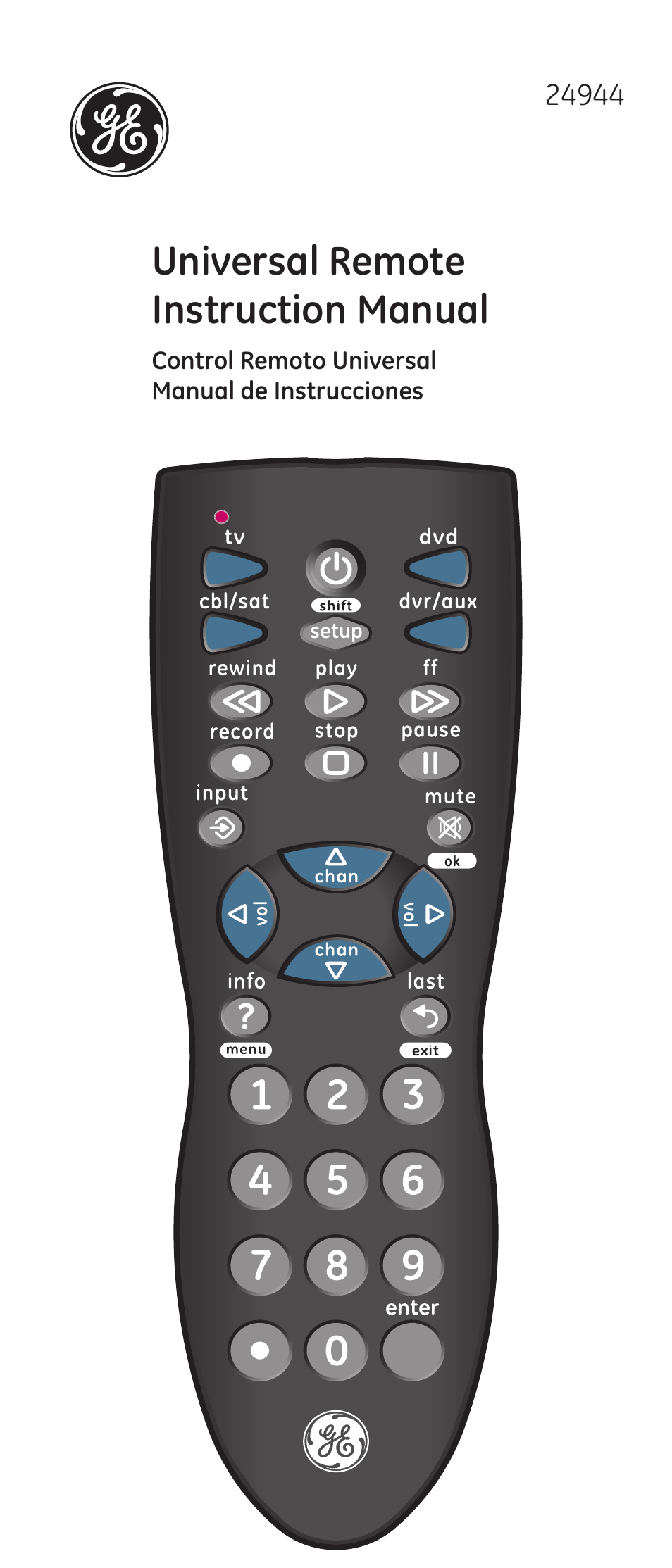 rogers remote control user guide