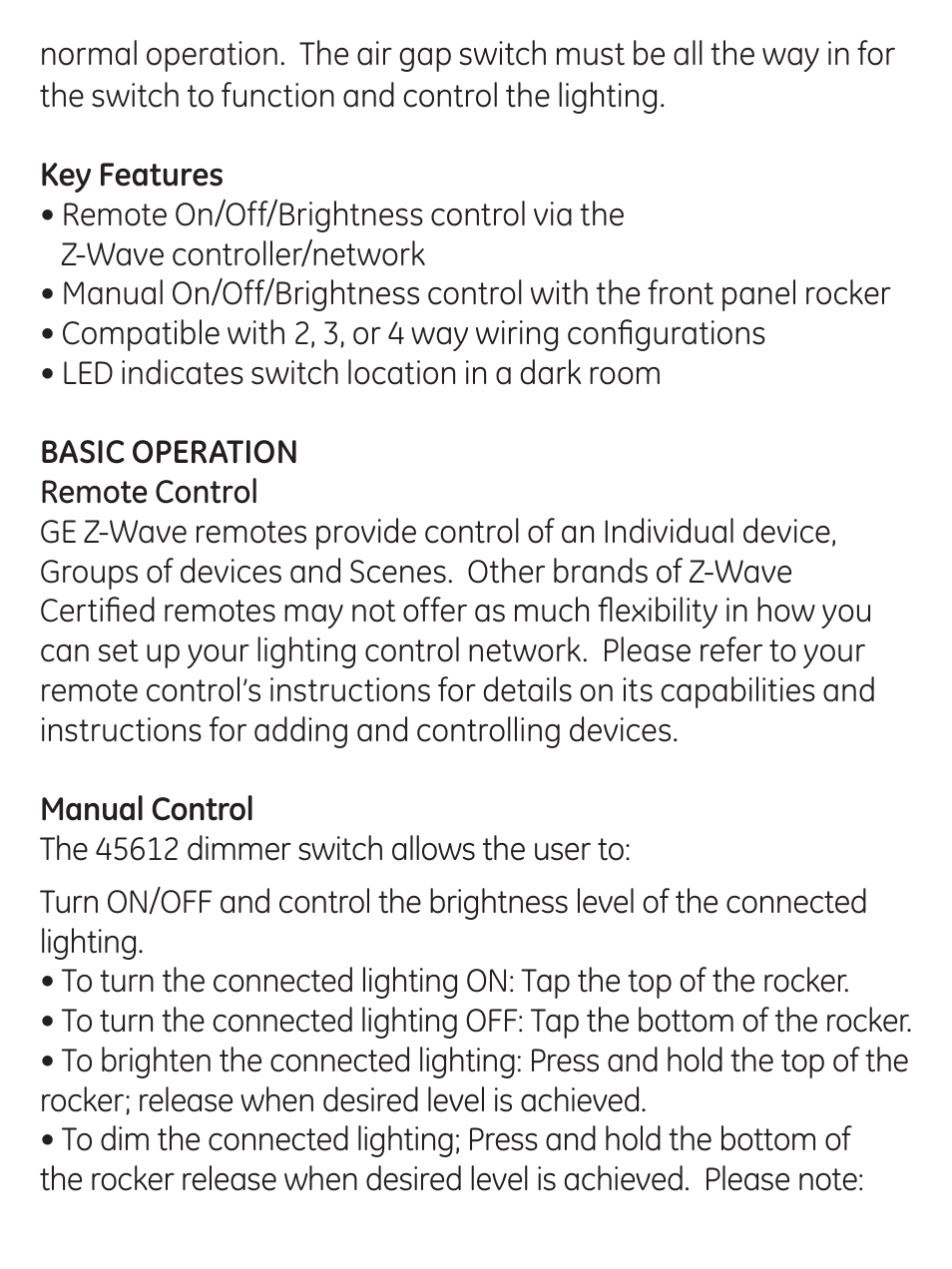 ge 45613 ge wave 3. GE 45613 Z-Wave 3-Way Dimmer Kit With Terminals User Manual | Page 15 / 24 Also For: 45612 Switch Ge Wave 3