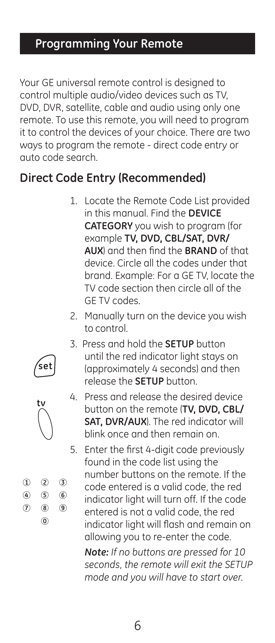 ge 24993 v2 ge universal remote control user manual page 6 44 rh manualsdir com General Electric HDMI Cables General Electric HDMI Cables