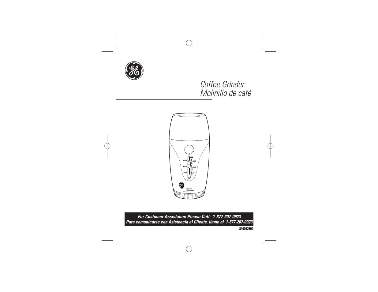 ge 169028 user manual 8 pages rh manualsdir com Manual Can Opener Mini Manual Can Openers