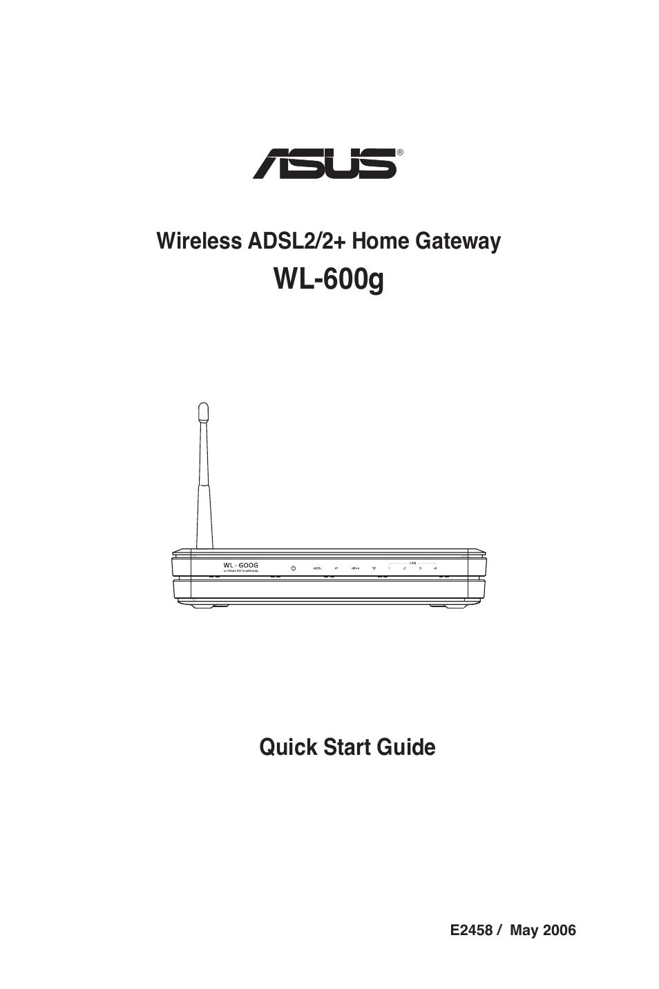 asus wl 600g user manual 18 pages rh manualsdir com asus wl 600g firmware download Asus Power Cord