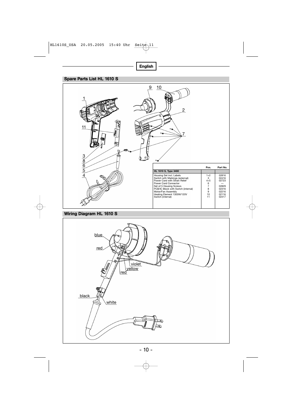 Steinel Hg 2510 Esd User Manual