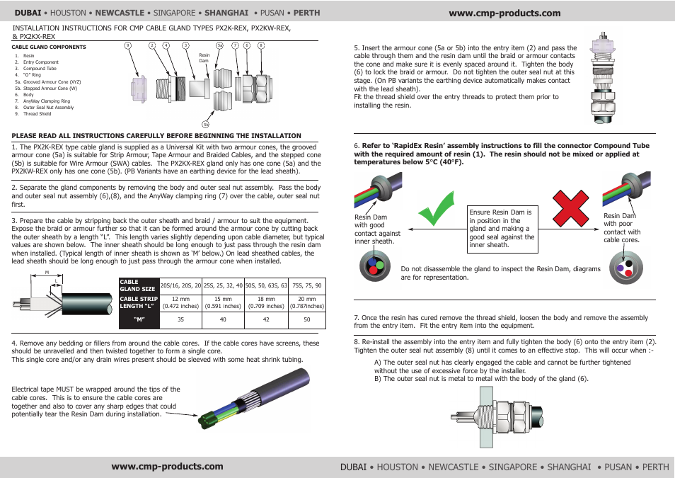 CMP PX2KX-REX User Manual | Page 2 / 2 | Also for: PX2KW-REX