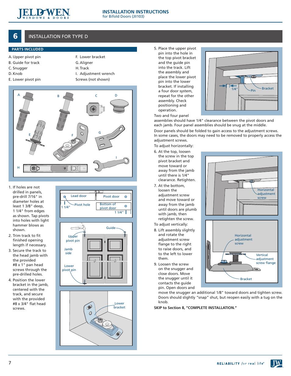 How To Install Jeld Wen Bi Fold Closet Doors Image Of Bathroom And Closet