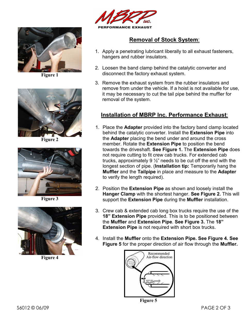 MBRP S6012 User Manual | Page 2 / 3