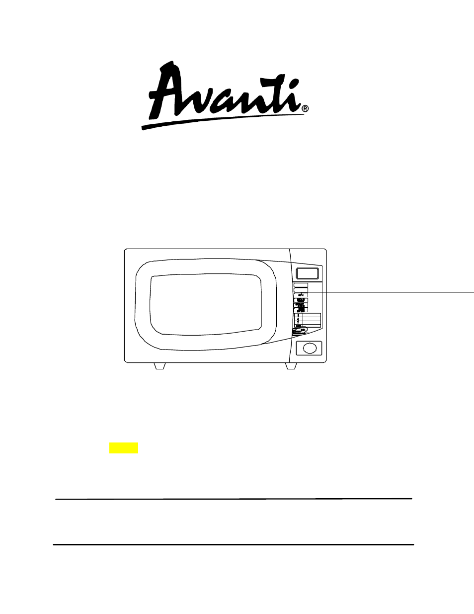 Avanti Mo1040tw User Manual 36 Pages