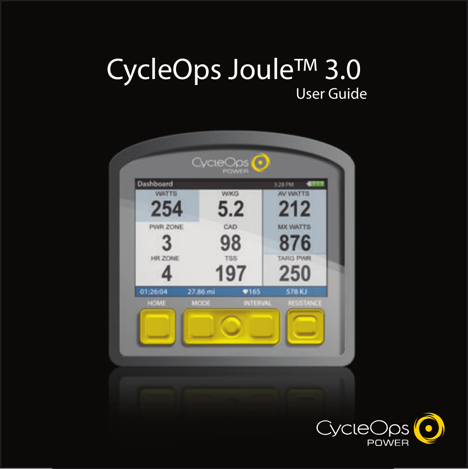 powertap joule 3 0 user manual