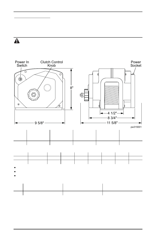 Warning   Powerwinch 315 User Manual   Page 4 / 14