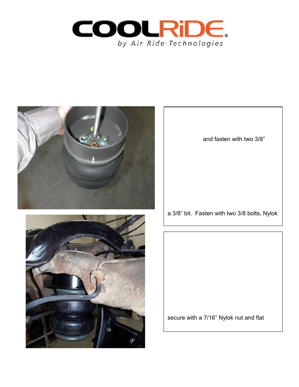 Ridetech 11220199 User Manual | Page 3 / 16