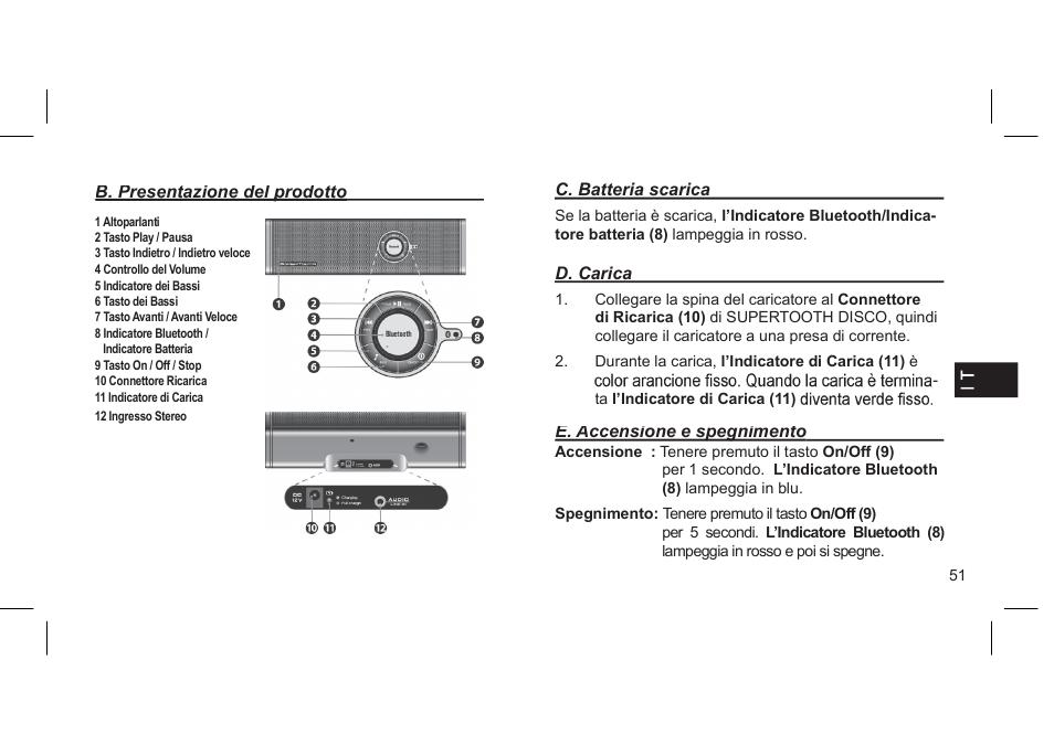 supertooth disco user manual page 54 62 original mode rh manualsdir com Supertooth 2 Wall Charger Supertooth Bluetooth Speaker Review