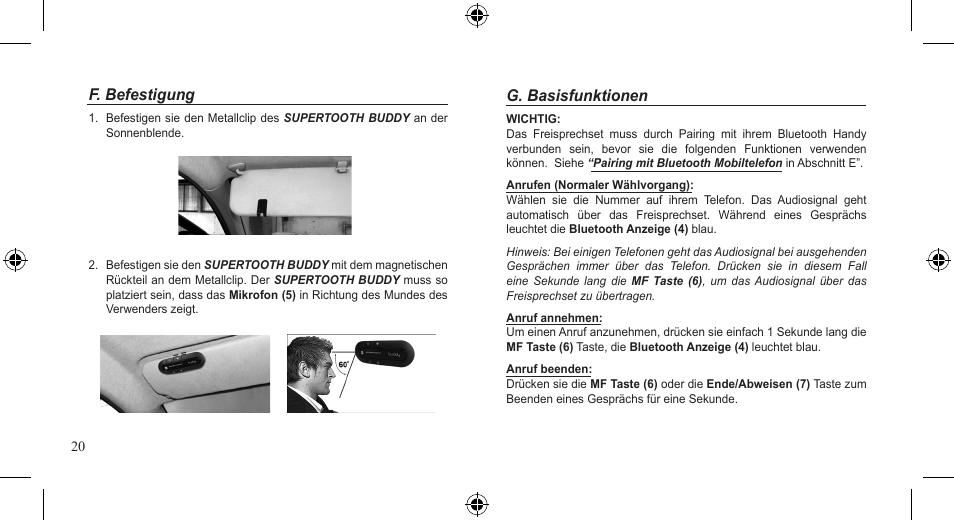 supertooth buddy user manual page 20 51 original mode rh manualsdir com supertooth buddy user guide Supertooth Cartoon