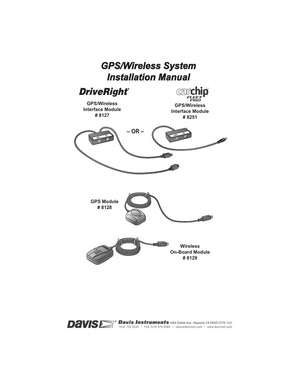 DAVIS DriveRight 8127