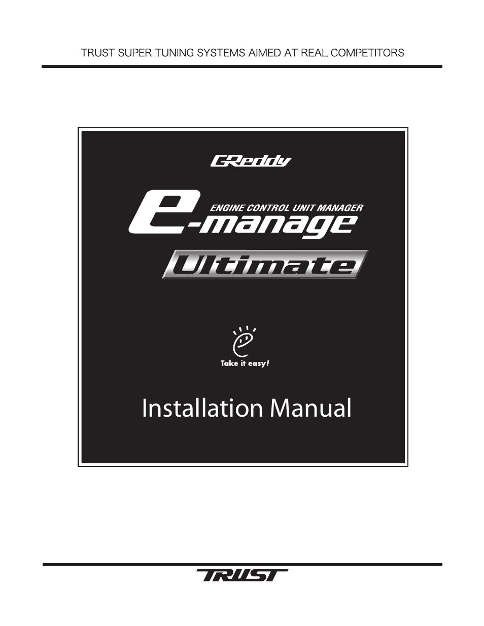 greddy e manage ultimate installation manual user manual 40 pages rh manualsdir com greddy emanage blue instruction manual G Reddy Emanage Blue