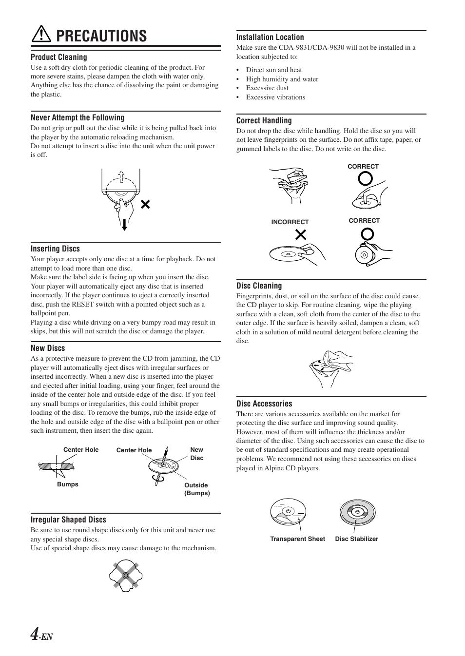 cda 9830 manual