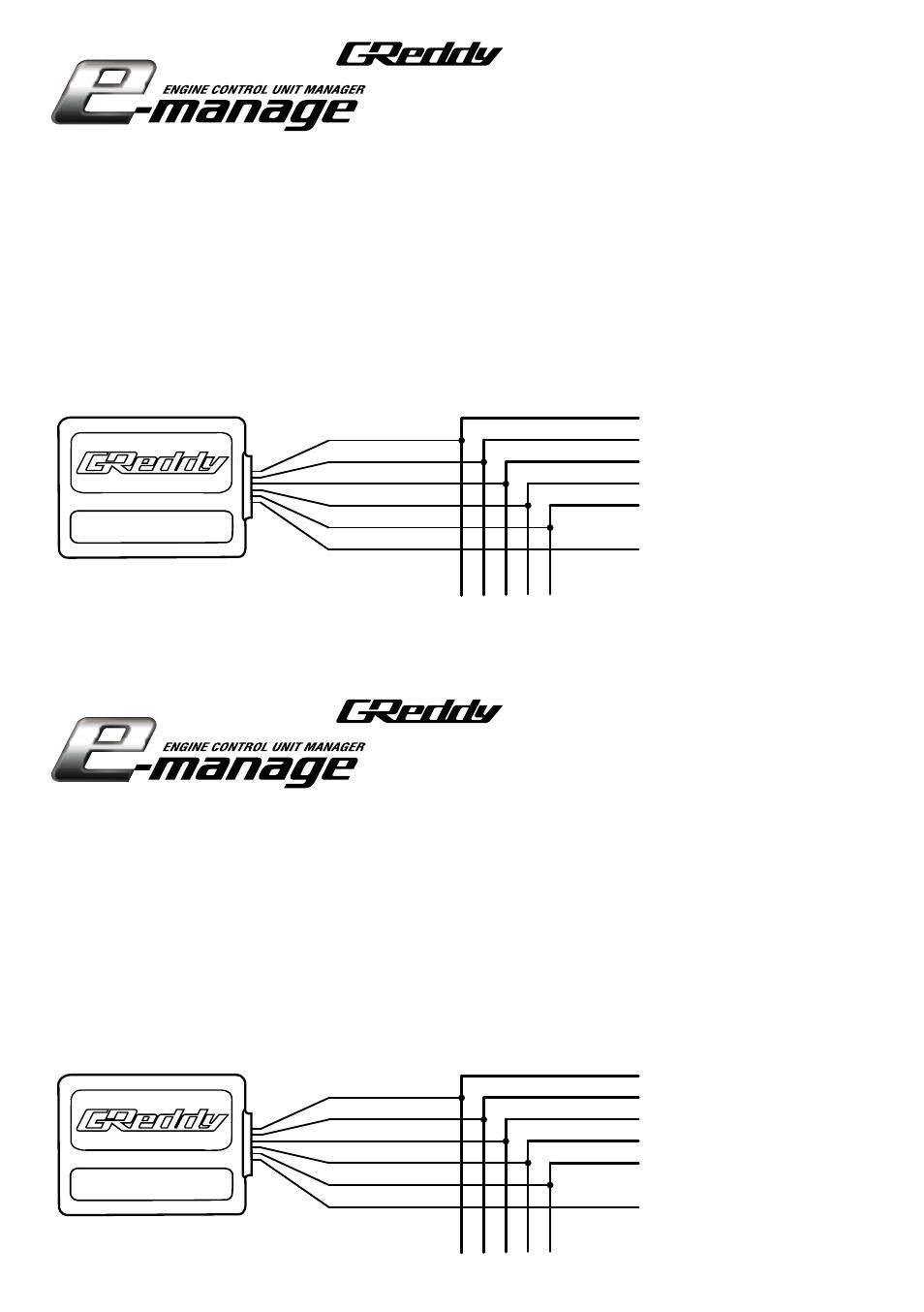 greddy e manage rpm adapter 3 user manual 1 page original mode rh manualsdir com Emanage 350Z G Reddy G Reddy Emanage Blue